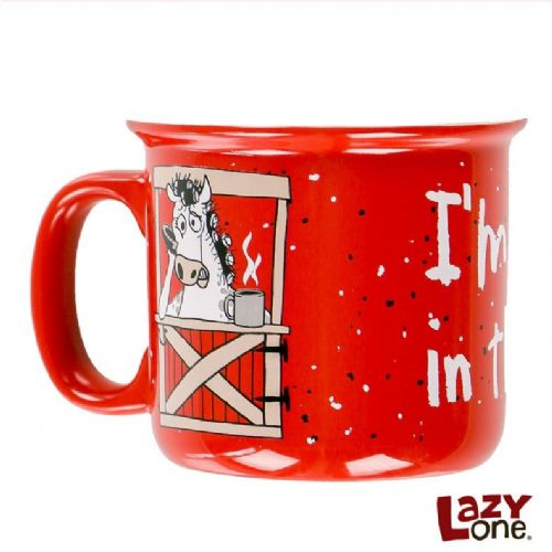 Unstable in the Morning Horse Mug | LazyOne®